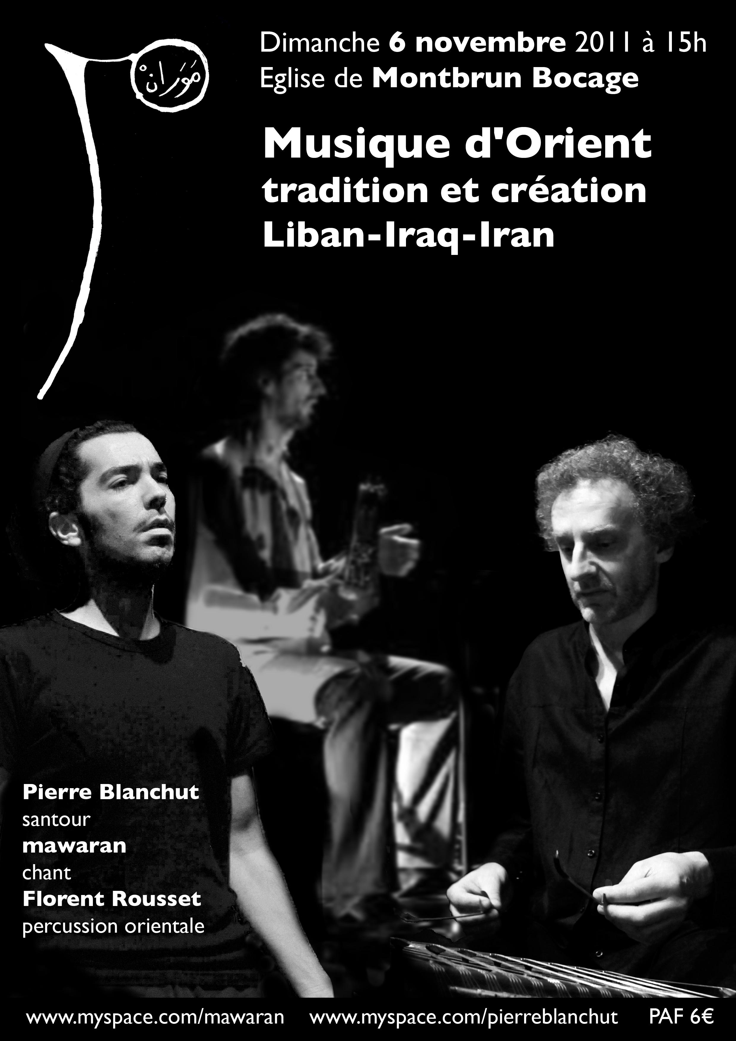 affiche concert montbrun 2011